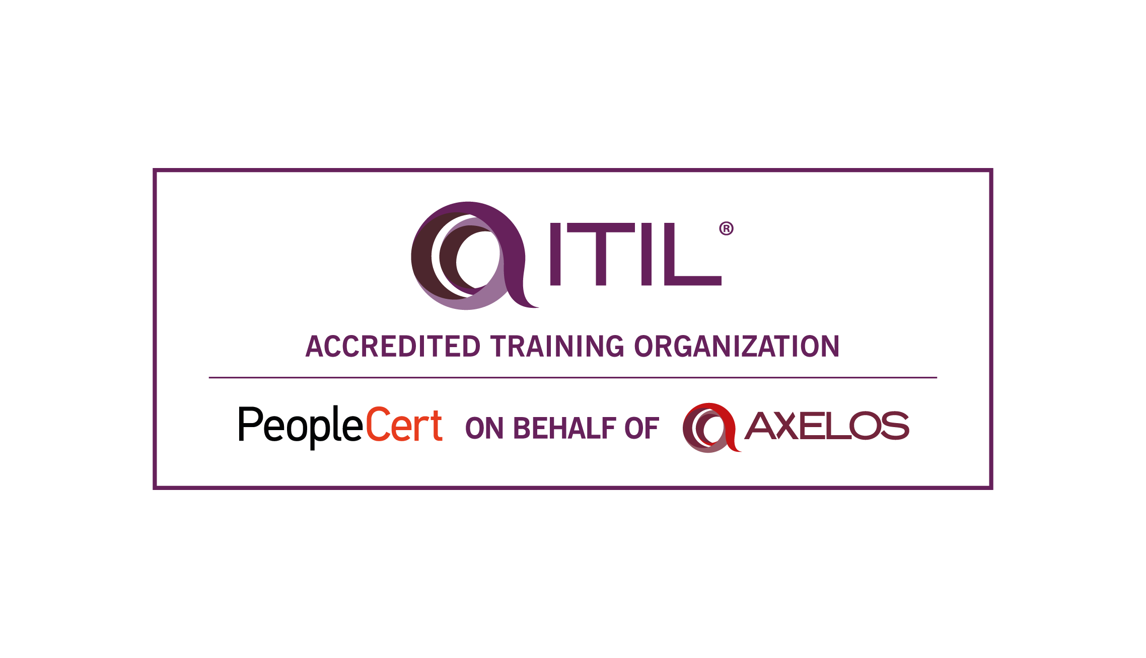 ITIL Training Organization Accredited By PEOPLECERT logo