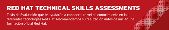 Red Hat skills assessments españa
